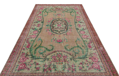 170X275 CM BURSA HANDMADE OVER DYED RUG 1817