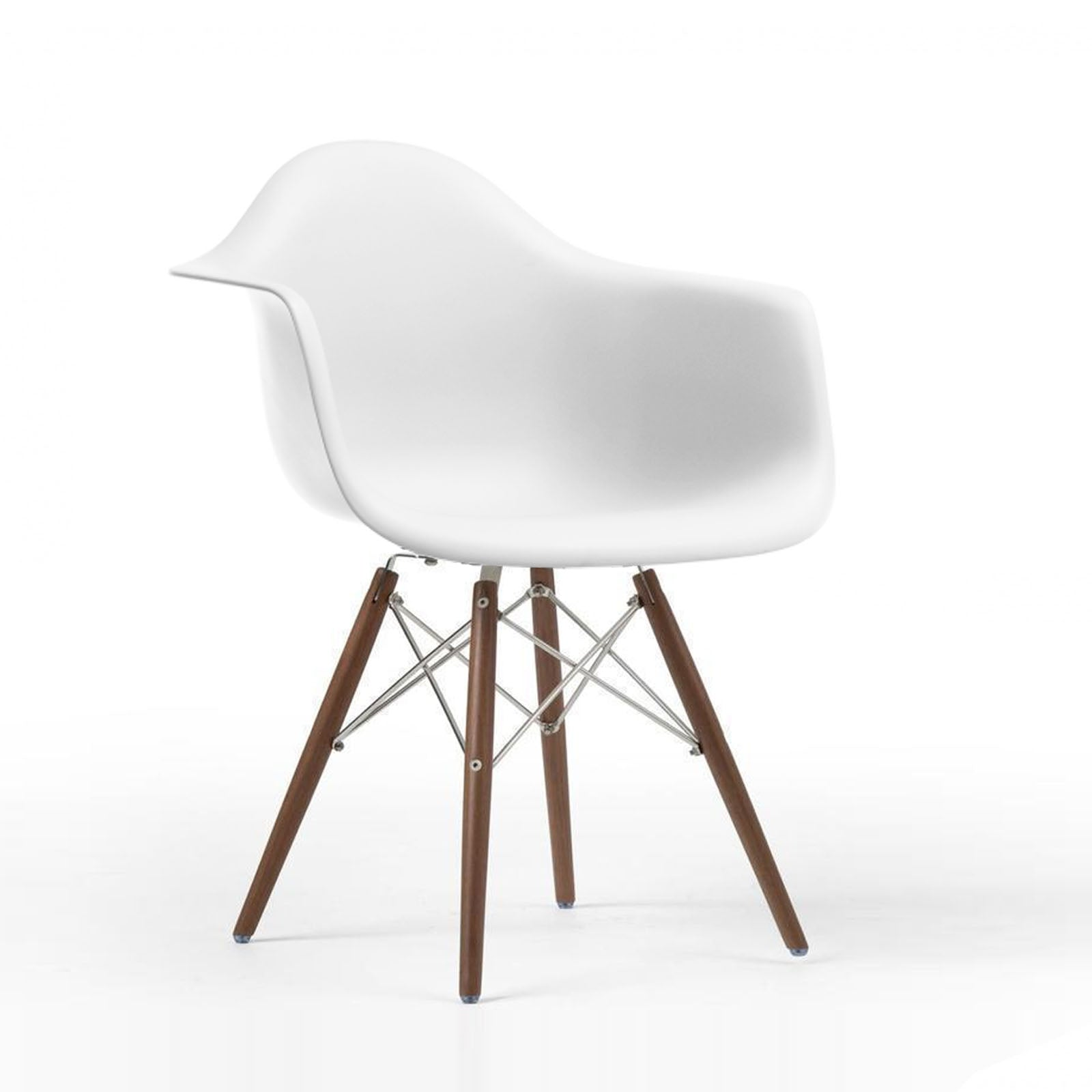 Dinning Chair- Plastic- PC-018W-W -  كرسى سفرة بلاستيك - Shop Online Furniture and Home Decor Store in Dubai, UAE at ebarza