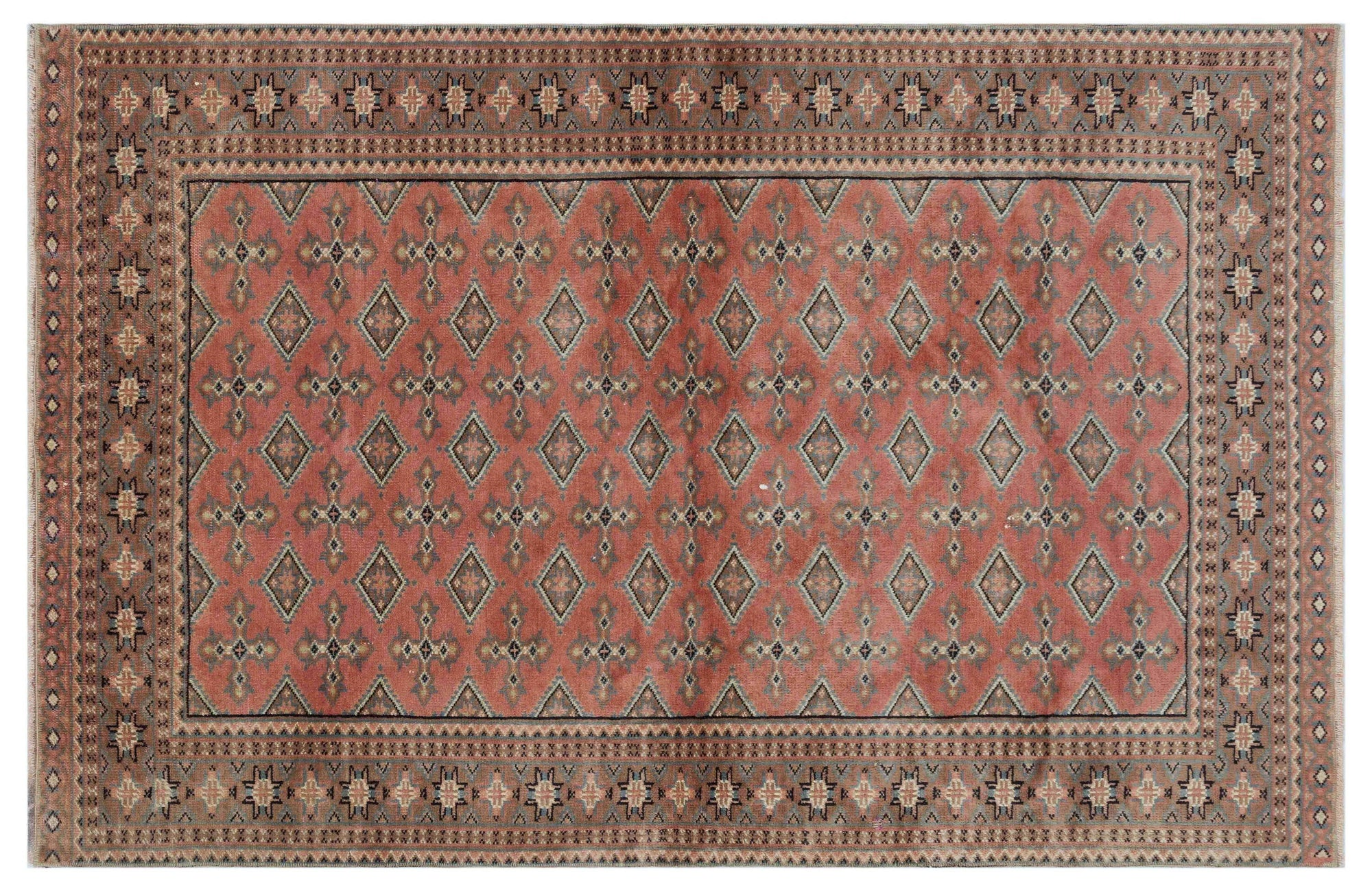 114x185 CM BURSA HANDMADE OVER DYED RUG 1917