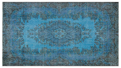 PRE-ORDER 15 DAYS DELIVERY 118x212 CM BURSA HANDMADE OVER DYED RUG 1941