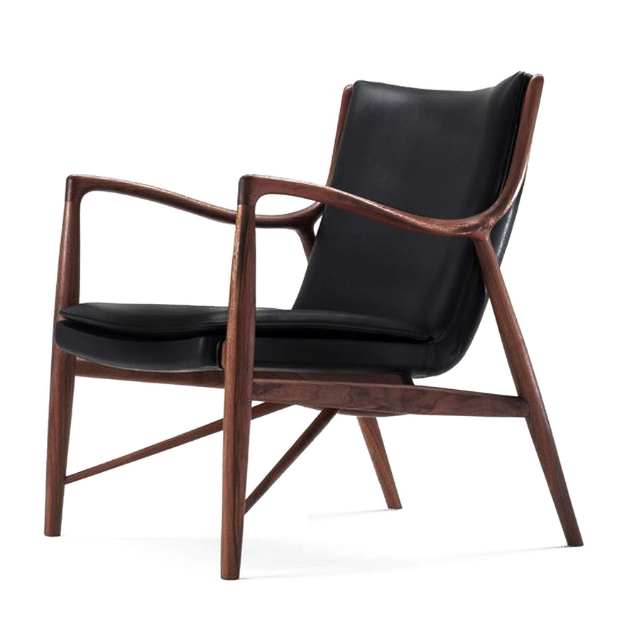Retro Solid wood Lounge  Chair  SMY15012 - ebarza