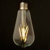 Set of 6 LED Vintage bulbs ST64-6W