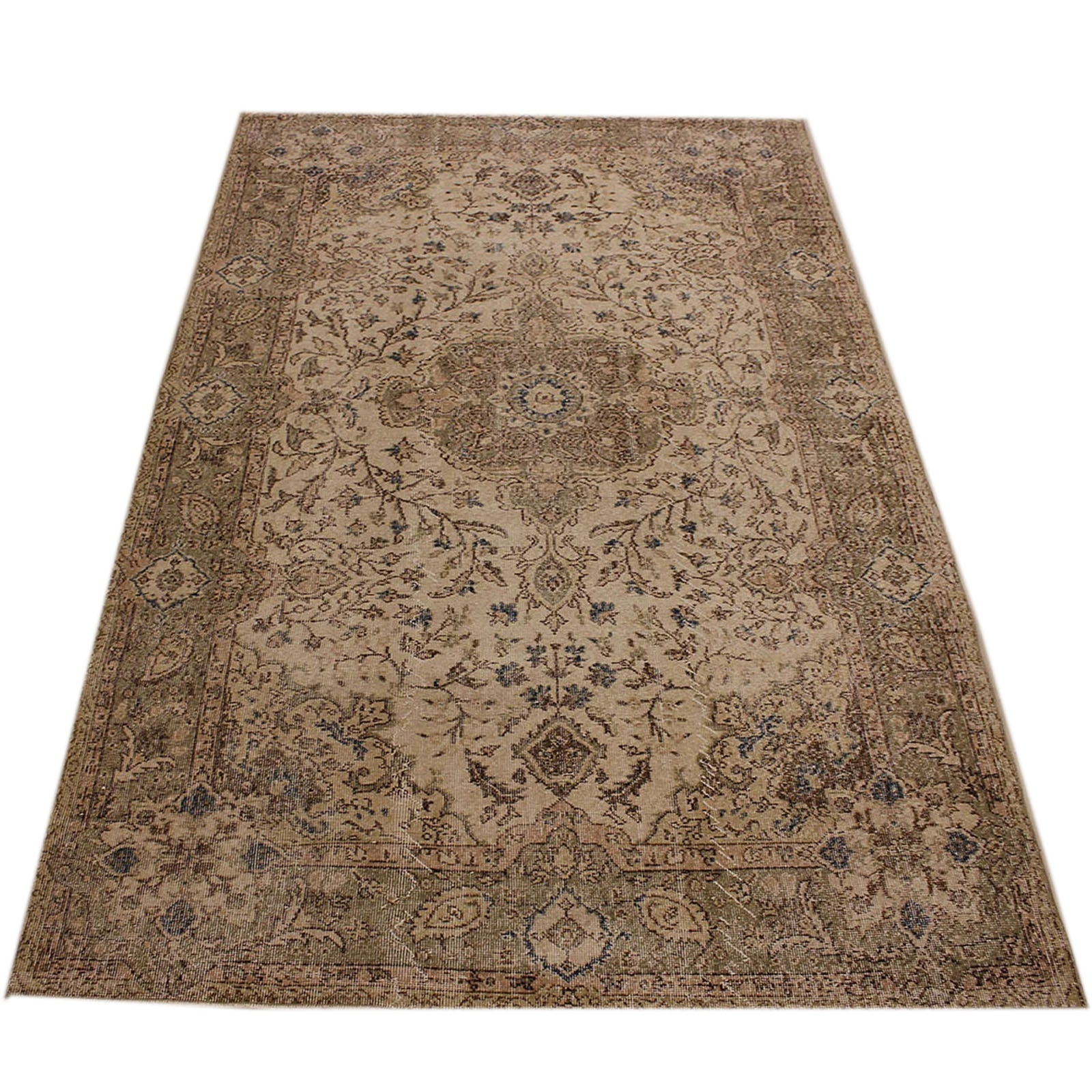 Hali 181X288 CMBursa Handmade over dyed rug 2314 -  181*288 سجاده بورصة صناعة يدوية على بساط مصبوغ - Shop Online Furniture and Home Decor Store in Dubai, UAE at ebarza