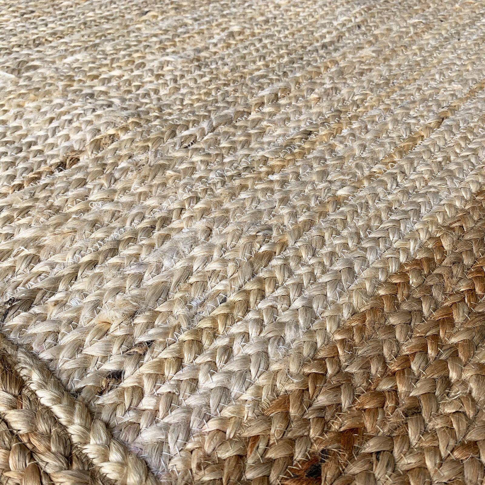 300X90 cm Braided handmade Jute Rug Braided-001-Long