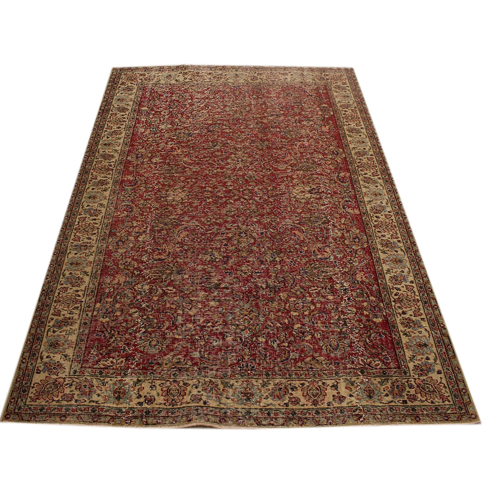 Hali 150X245 CM Bursa Handmade over dyed rug 2370