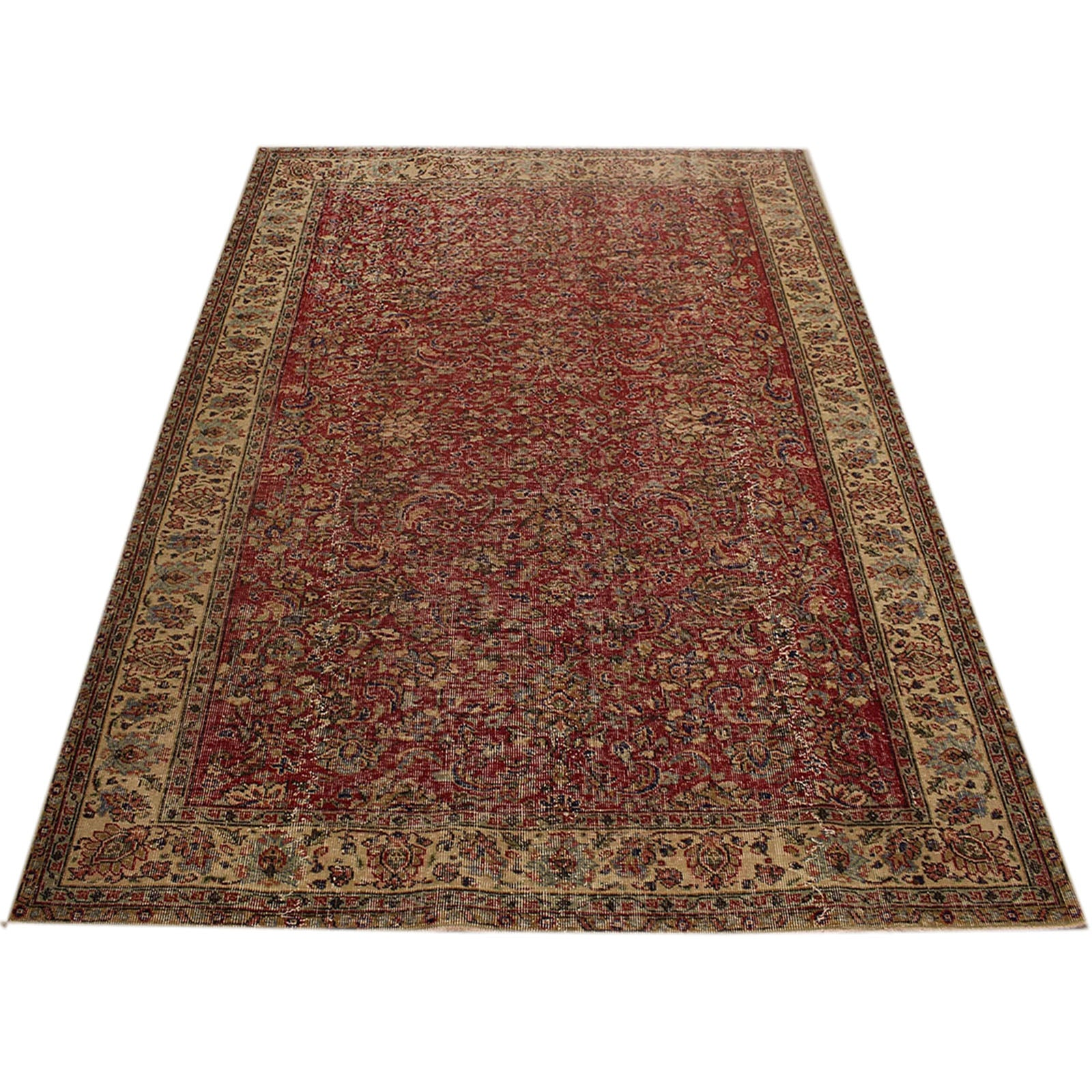 Hali 205X267 CM Bursa Handmade over dyed rug 2346