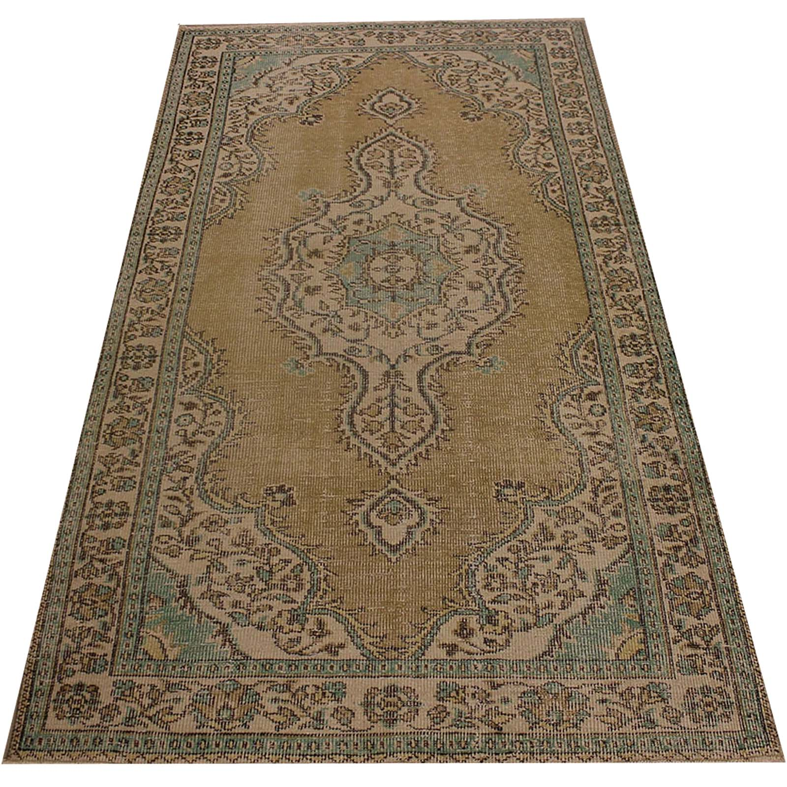 Hali 138X261  CM Bursa Handmade over dyed rug 2358