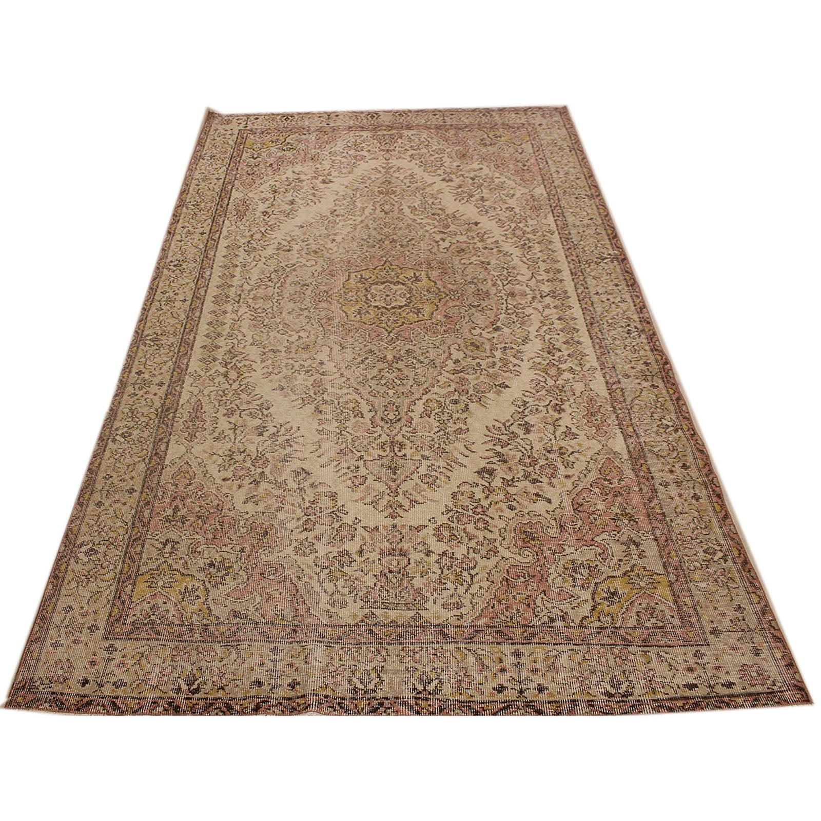 Hali 184X301 CM Bursa Handmade over dyed rug 2362