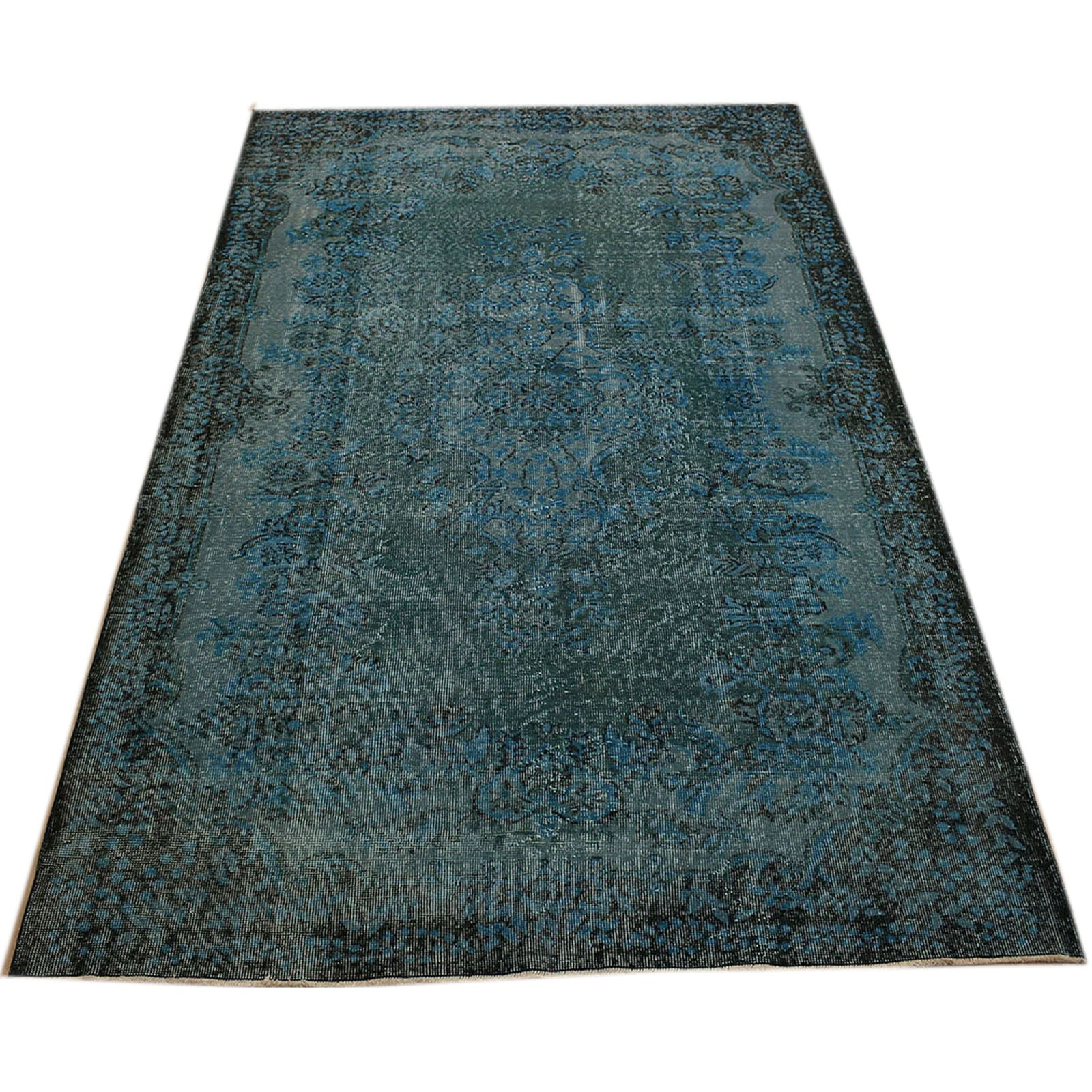 Hali 178X284 CM Bursa Handmade over dyed rug 2368 -  178*284 سجاده بورصة صناعة يدوية على بساط مصبوغ - Shop Online Furniture and Home Decor Store in Dubai, UAE at ebarza