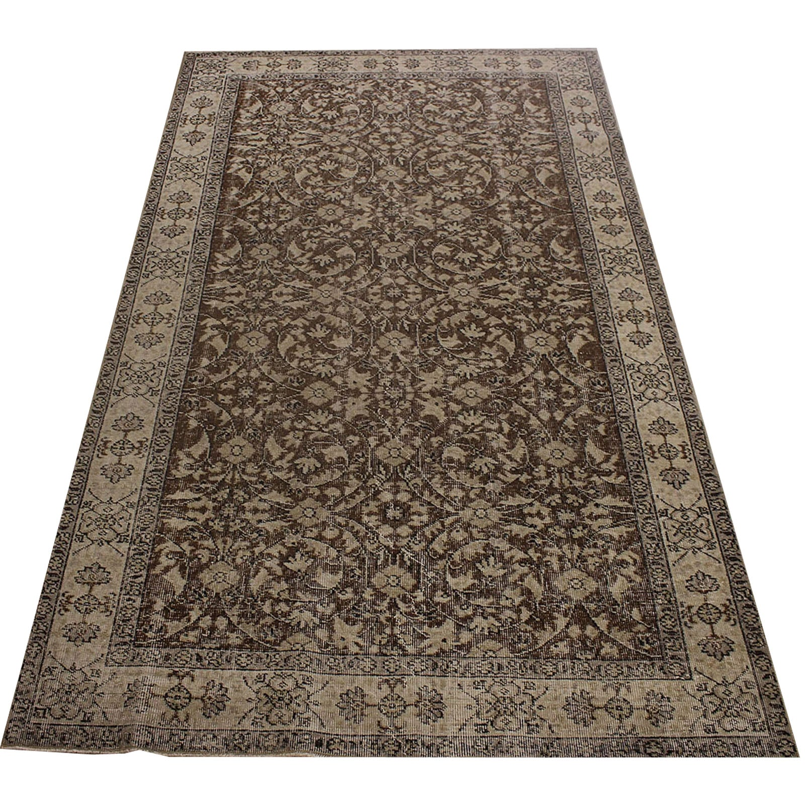 Hali 165X271 CM Bursa Handmade over dyed rug 2388