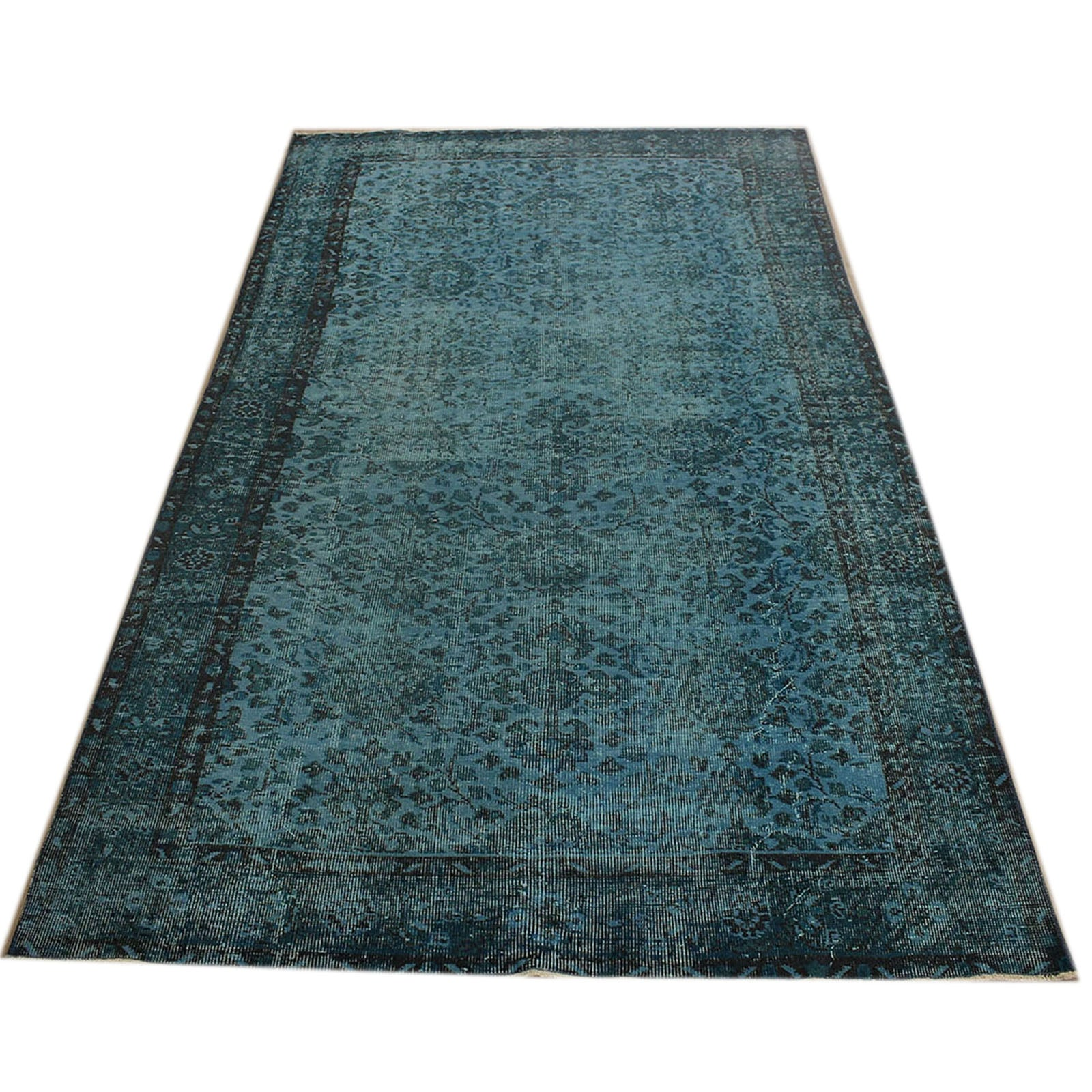 Hali 160X264 CM Bursa Handmade over dyed rug 2399