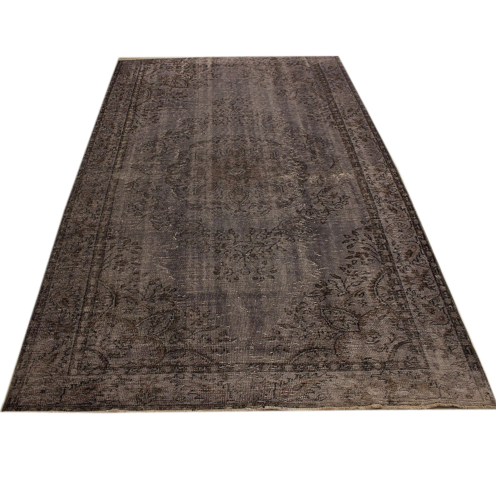 Hali 188X303 CM Bursa Handmade over dyed rug 2438