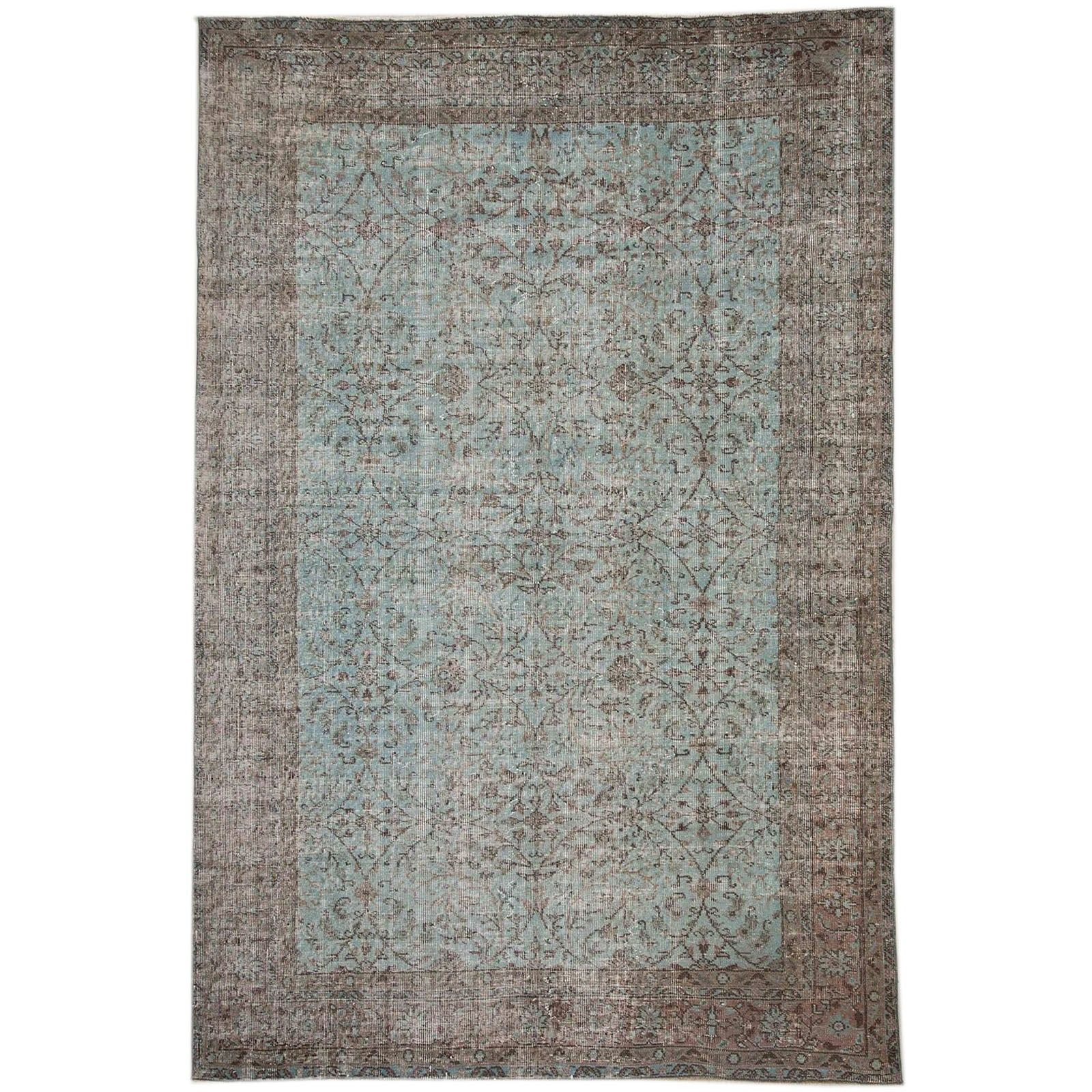 Hali 191X288  CM Bursa Handmade over dyed rug  2567 -  191*288 سجاده بورصة صناعة يدوية على بساط مصبوغ - Shop Online Furniture and Home Decor Store in Dubai, UAE at ebarza