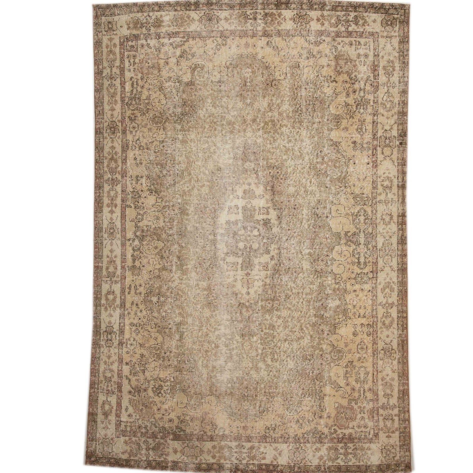 Hali 194X287  CM Bursa Handmade over dyed rug  2585 -  194*287 سجاده بورصة صناعة يدوية على بساط مصبوغ - Shop Online Furniture and Home Decor Store in Dubai, UAE at ebarza