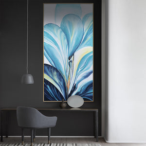 Handpainted Art Painting with 160X80 Cm  frame SOAAP0008
