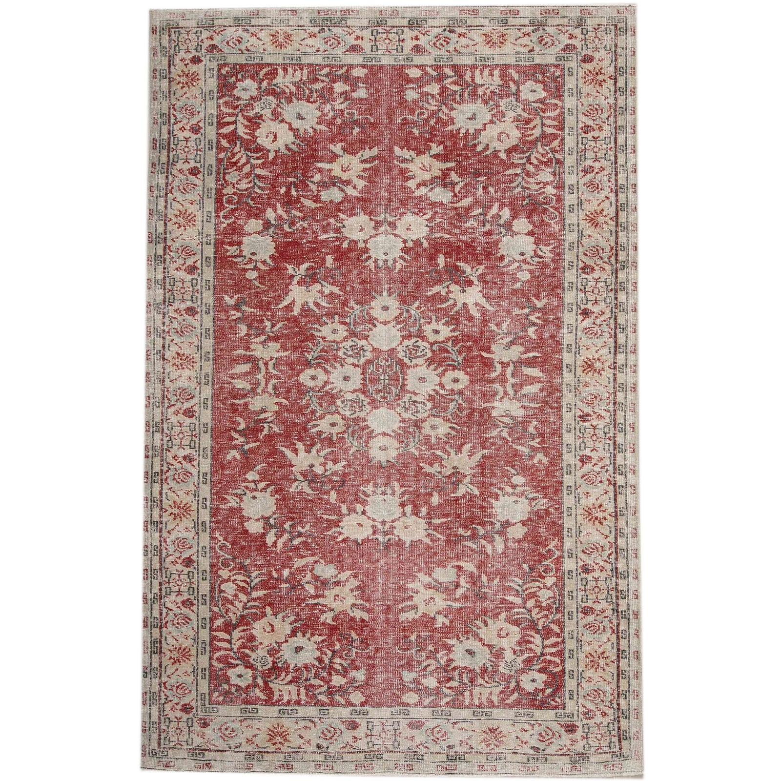 Hali 192X297  CM Bursa Handmade over dyed rug  2632 -  192*297 سجاده بورصة صناعة يدوية على بساط مصبوغ - Shop Online Furniture and Home Decor Store in Dubai, UAE at ebarza