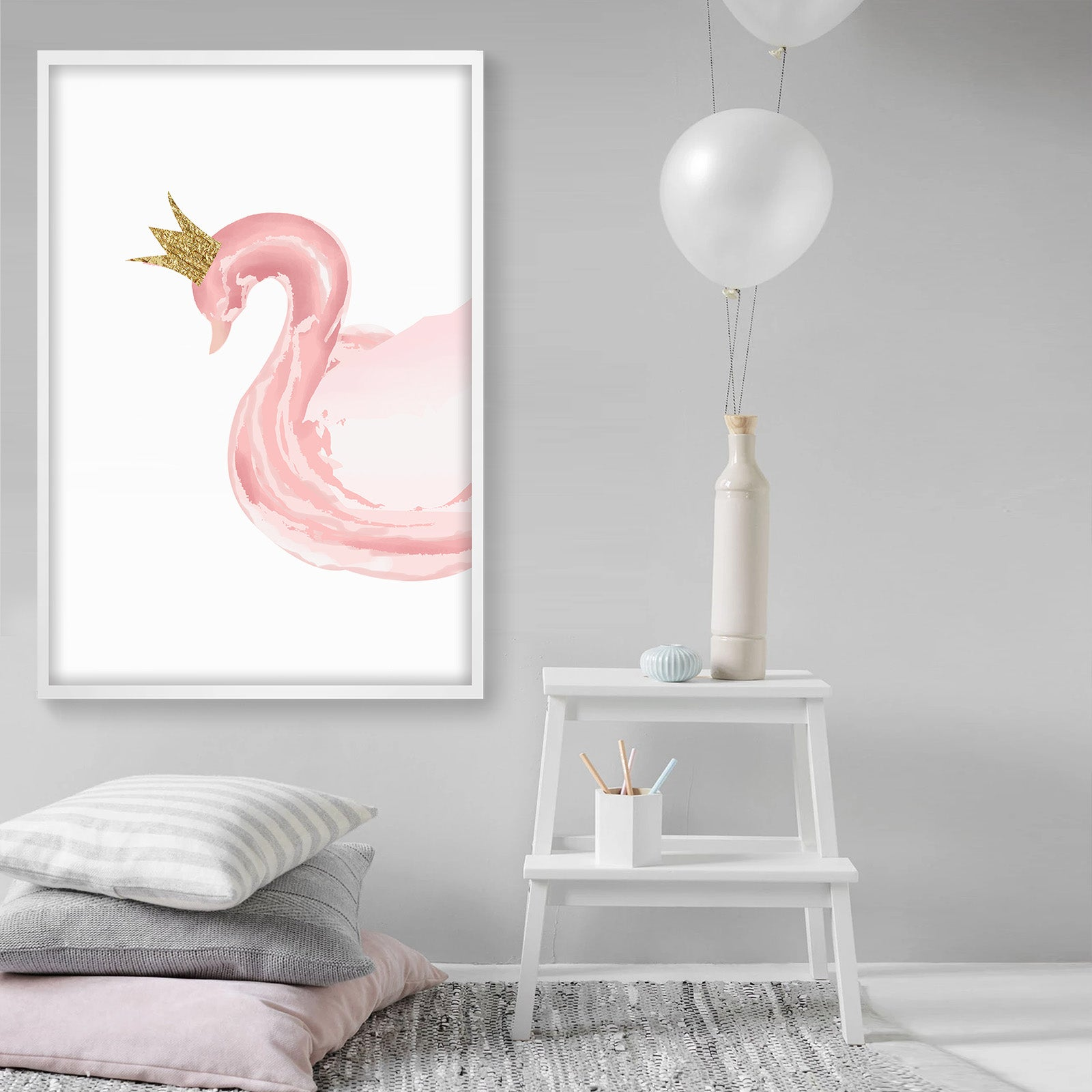 Framed Graphic Art Print  SOAPR0006 -  لوحه فنيه مطبوعه بالايطار - Shop Online Furniture and Home Decor Store in Dubai, UAE at ebarza