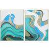 Pre-Order 30 days delivery set of 2  Handpainted Art Painting with  frame SO898 180X130 SOAP0066