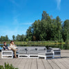 Pre-Order 60 days delivery  corner  Outdoor sofa set ASUKA001