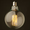 Set of 6 LED Vintage bulbs G125-6W