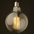 Set of 6 LED E27 Vintage bulbs G125-6W