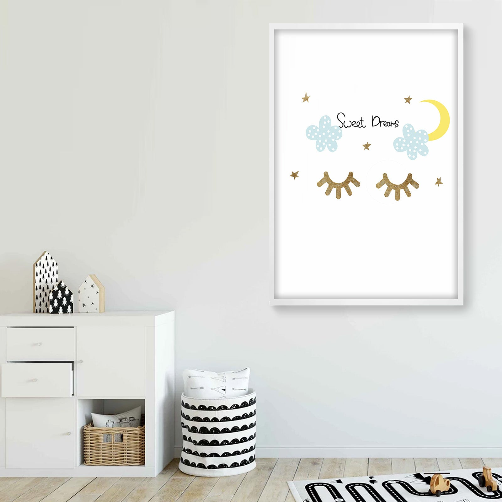 Framed Graphic Art Print  SOAPR0005 -  لوحه فنيه مطبوعه بالايطار - Shop Online Furniture and Home Decor Store in Dubai, UAE at ebarza