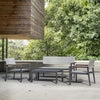 Pre-Order 40 days delivery  Set of 3+1+1+1 Outdoor sofa set Polrais-CS