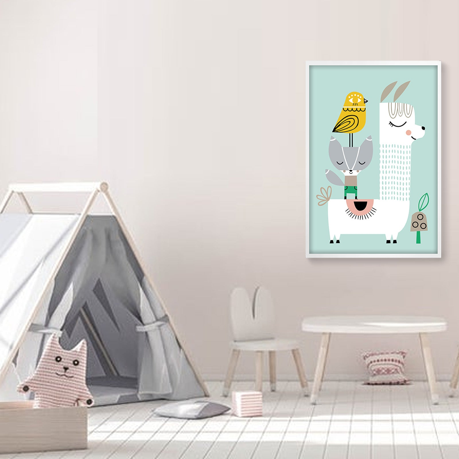 Pre-Order 60 days Delivery Framed Graphic Art Print  SOAPR0007 -  لوحه فنيه مطبوعه بالايطار - Shop Online Furniture and Home Decor Store in Dubai, UAE at ebarza