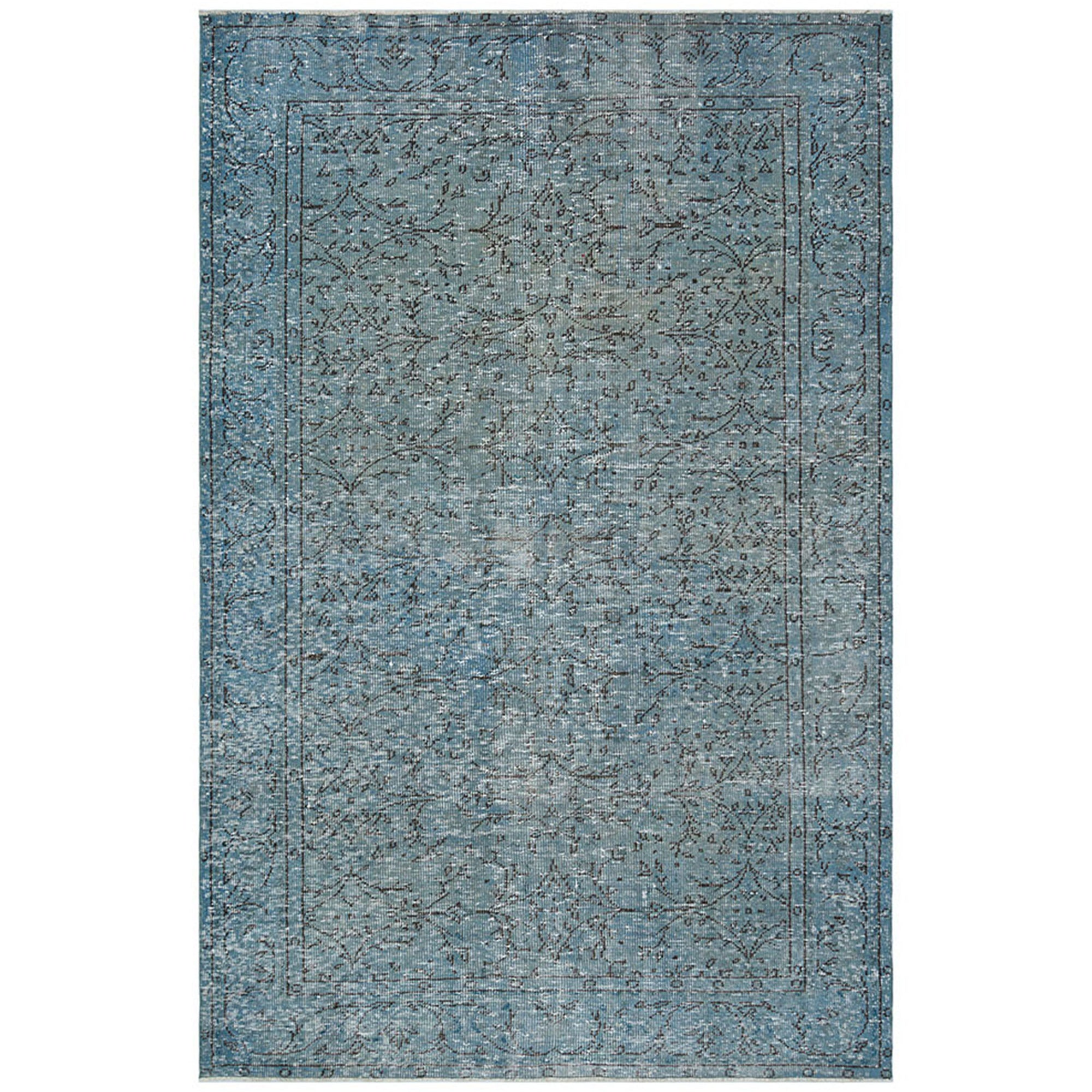 173 X 266 Anatolian Hand Knotted Carpet Vintage Style 60N2076 -  173 × 266 سجادة أناضولية معقودة يدويًا - Shop Online Furniture and Home Decor Store in Dubai, UAE at ebarza