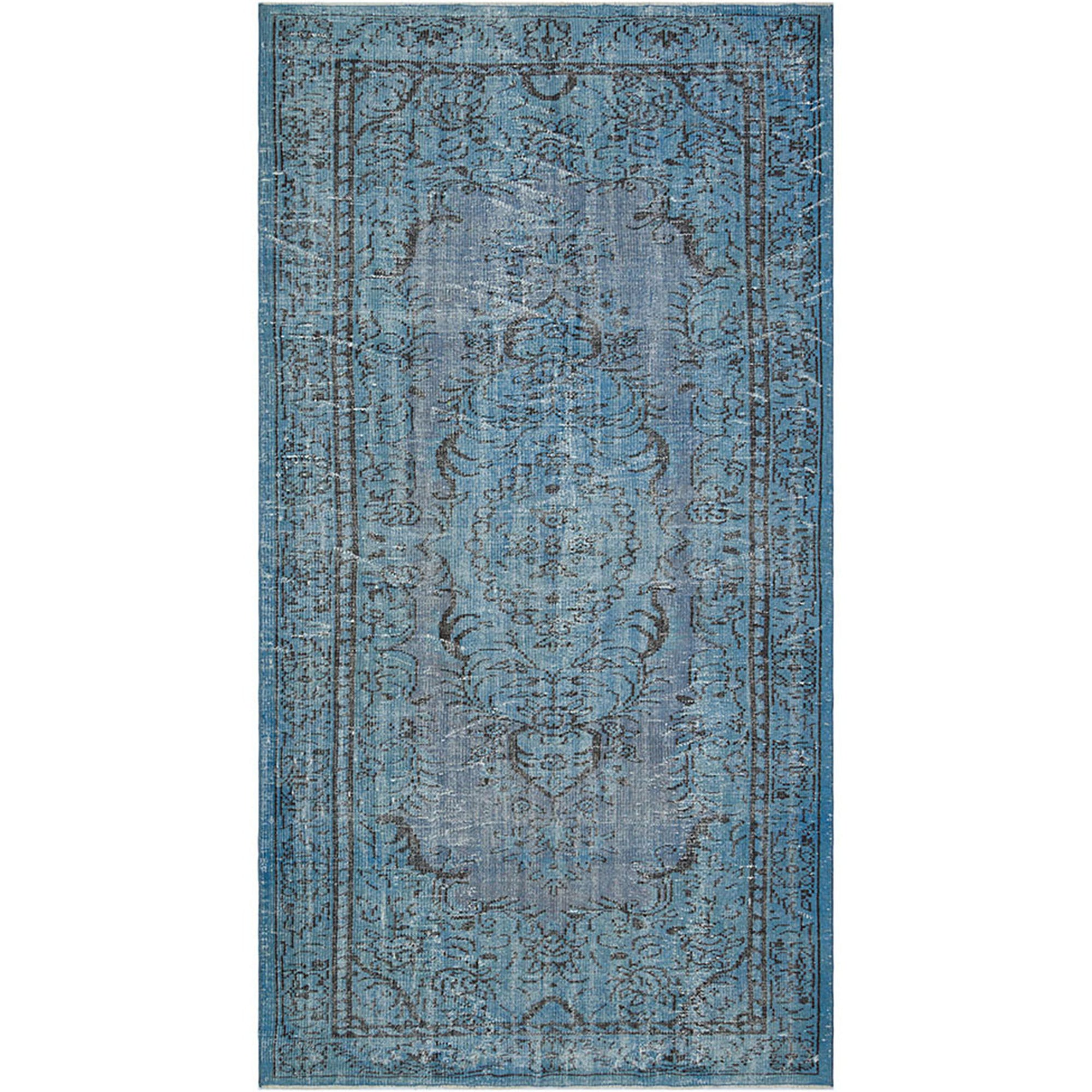 156 X 297 Anatolian Hand Knotted Carpet Vintage Style 60N2079 -  156 × 297 سجادة أناضولية معقودة يدويًا - Shop Online Furniture and Home Decor Store in Dubai, UAE at ebarza