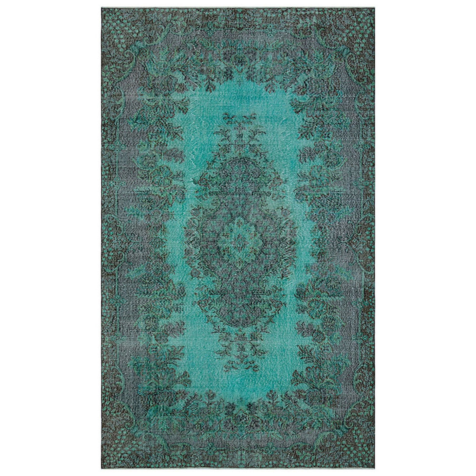 172 X 290 Anatolian Hand Knotted Carpet Vintage Style 60N2101 -  172 × 290 سجادة أناضولية معقودة يدويًا - Shop Online Furniture and Home Decor Store in Dubai, UAE at ebarza