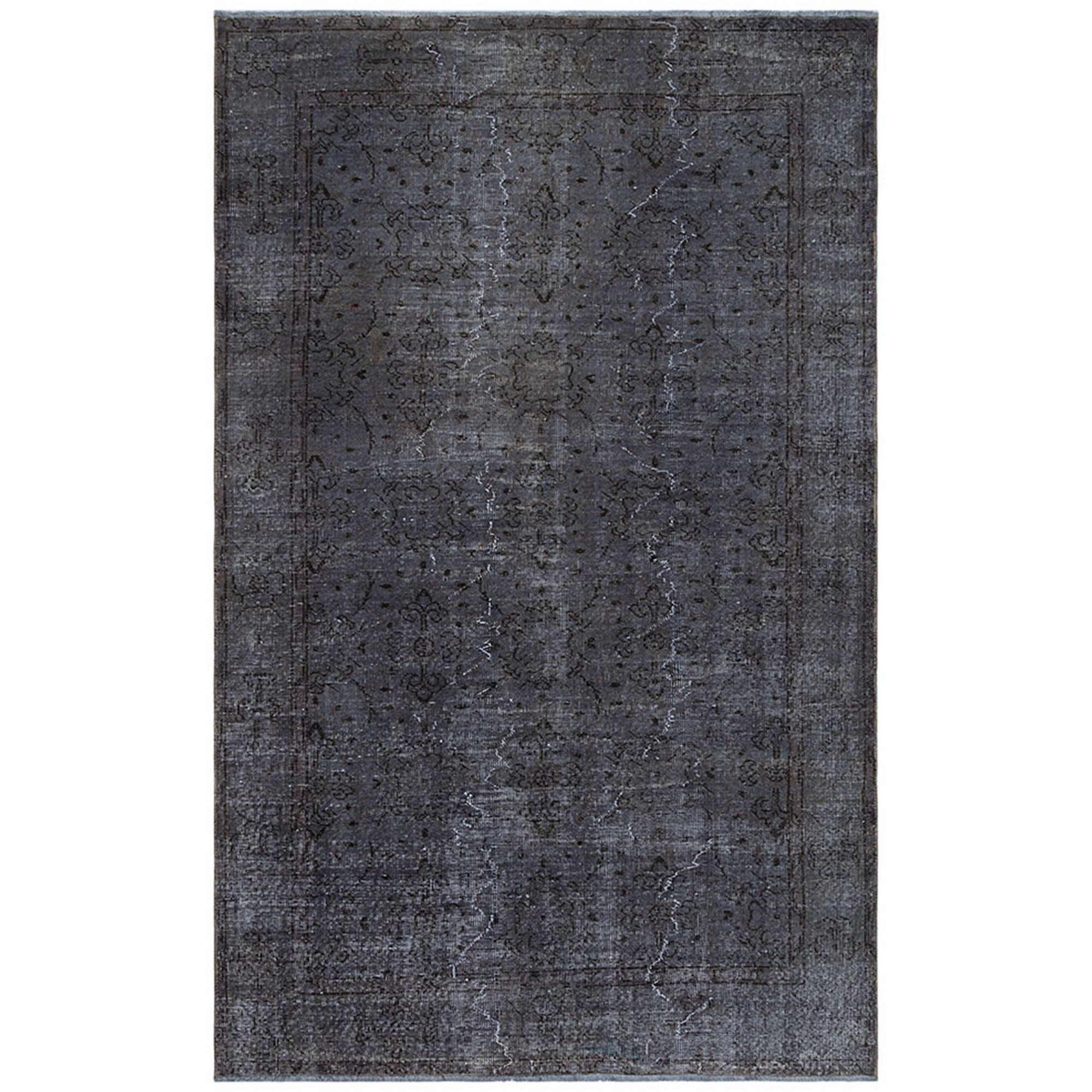 161 X 260 Anatolian Hand Knotted Carpet Vintage Style 60N2135 -  161 × 260 سجادة أناضولية معقودة يدويًا - Shop Online Furniture and Home Decor Store in Dubai, UAE at ebarza