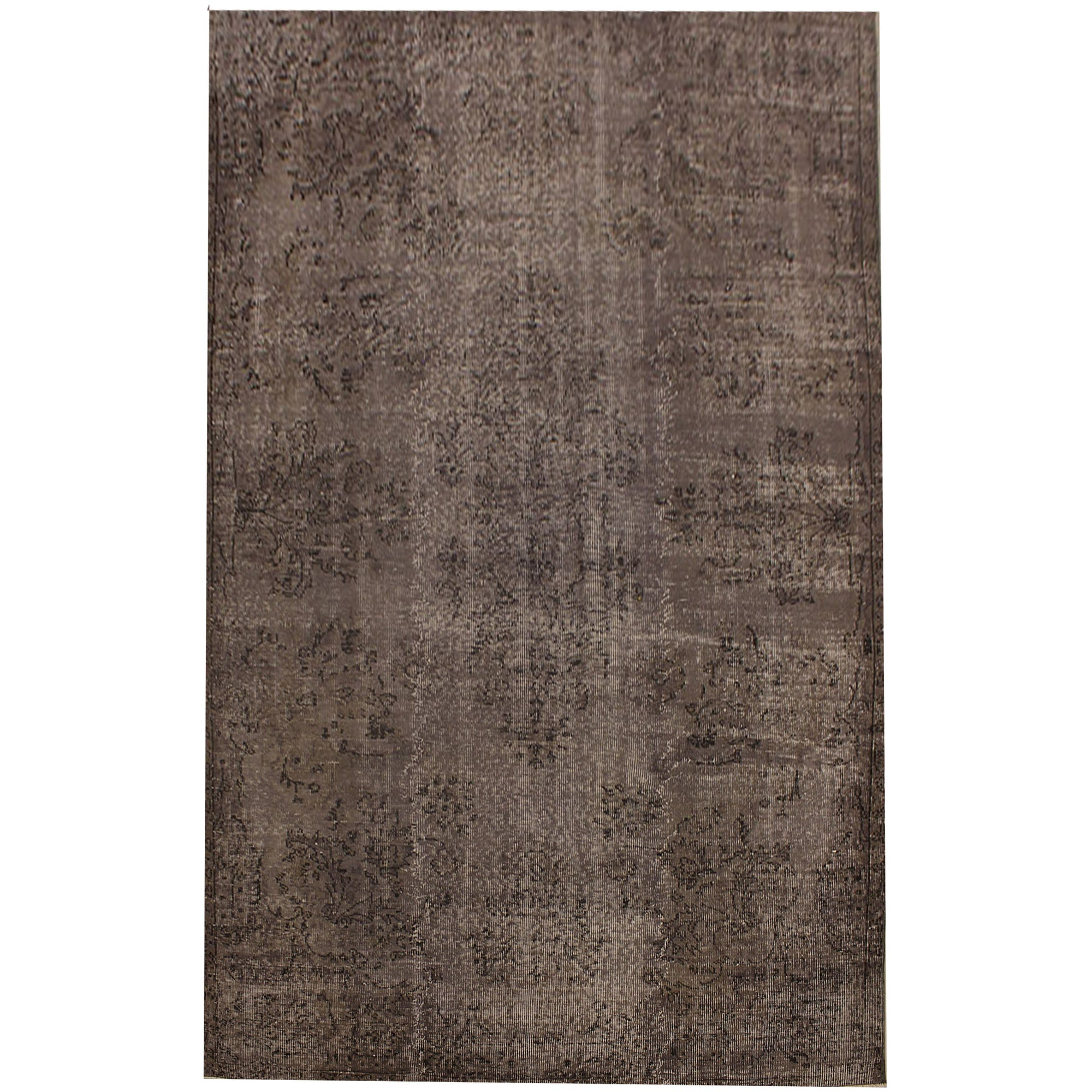 169 X 292 Anatolian Hand Knotted Carpet Vintage Style 60N2439