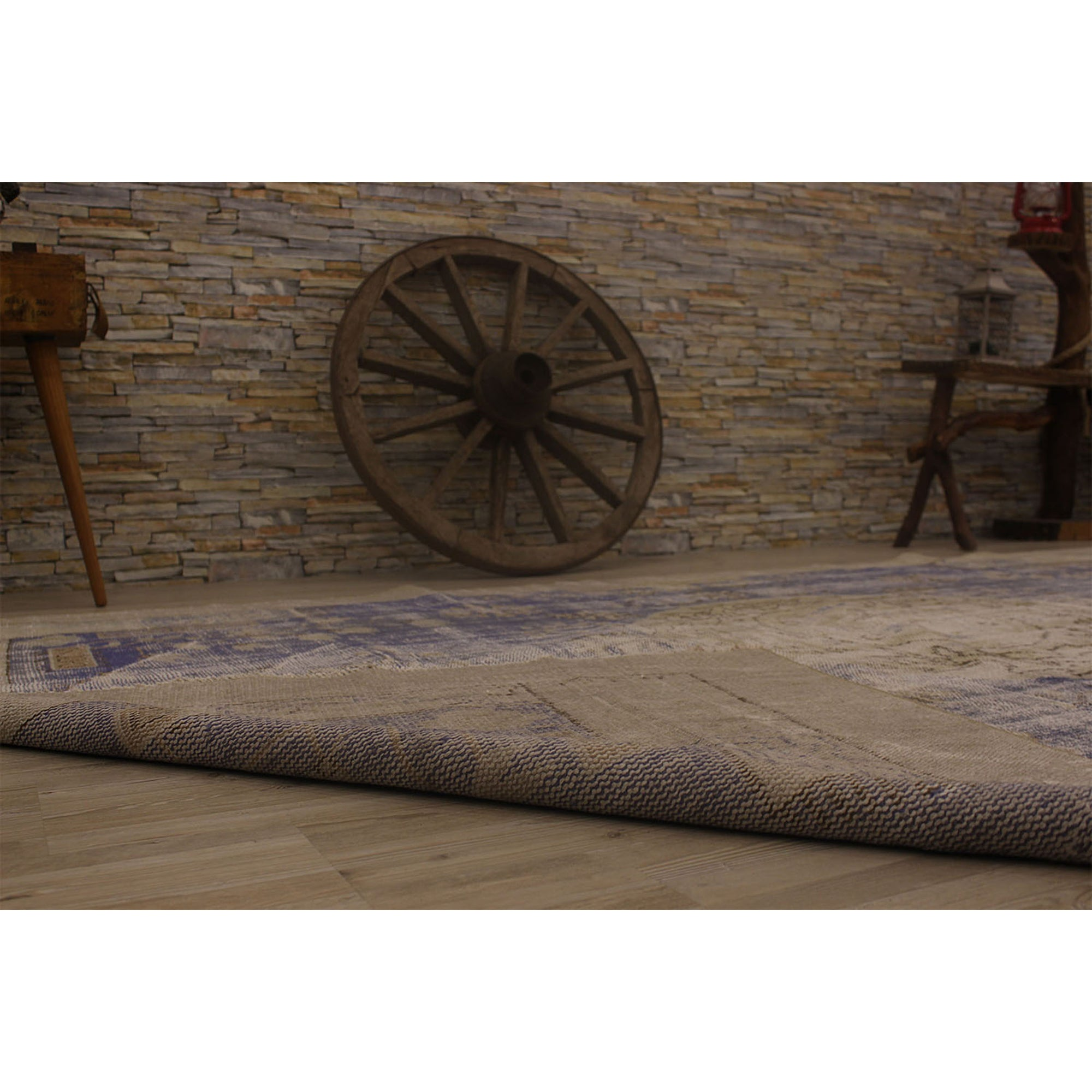 187 X 289 Anatolian Hand Knotted Carpet Vintage Style 60N2443 -  187 × 289 سجادة أناضولية معقودة يدويًا - Shop Online Furniture and Home Decor Store in Dubai, UAE at ebarza