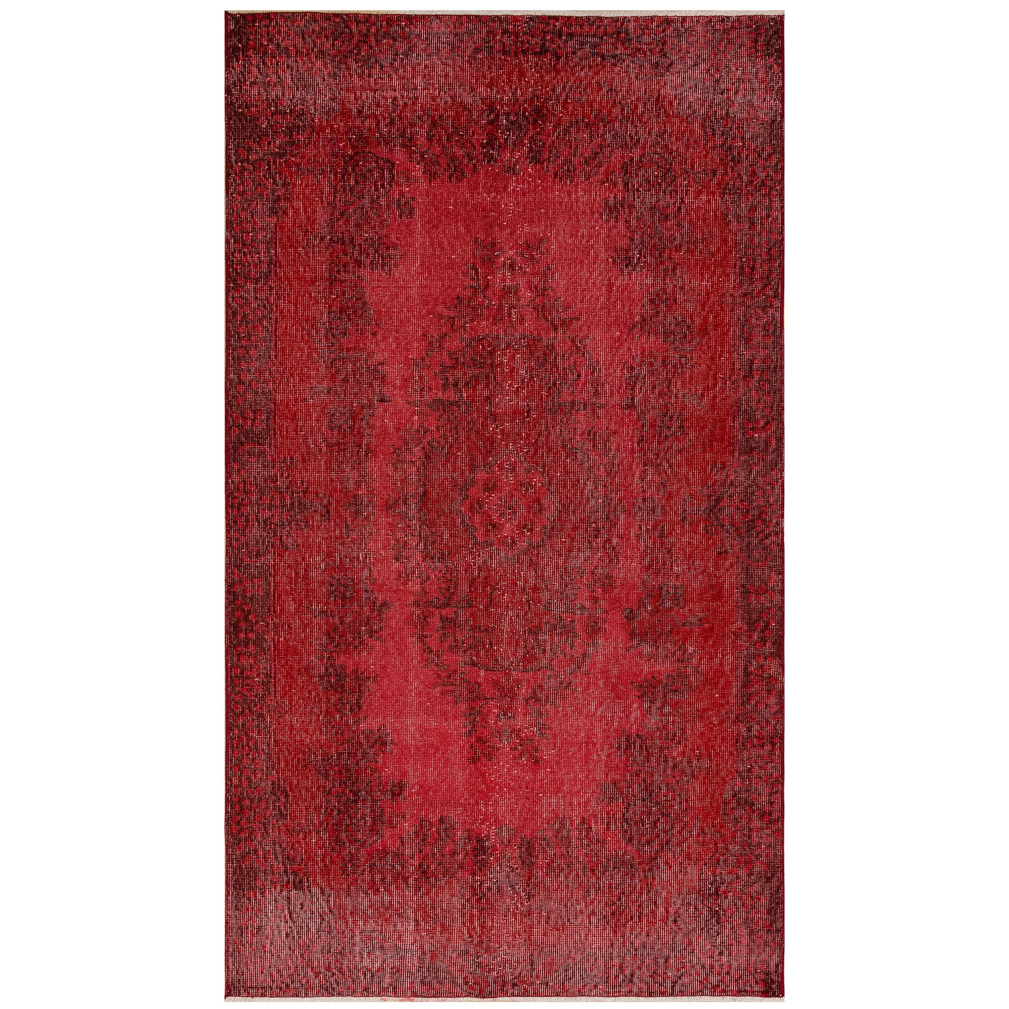 118 X 208 Anatolian Hand Knotted Carpet Vintage Style 60N2675 -  118 × 208 سجادة أناضولية معقودة يدويًا - Shop Online Furniture and Home Decor Store in Dubai, UAE at ebarza