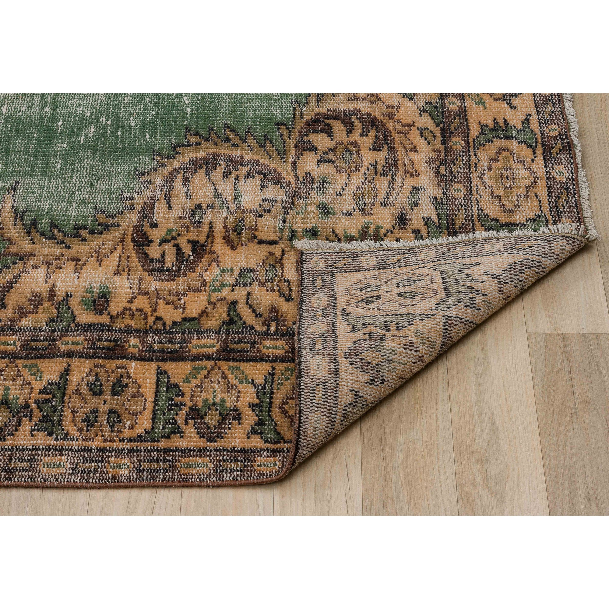 183 X 292 Anatolian Hand Knotted Carpet Vintage Style 60N2736 -  183 × 292 سجادة أناضولية معقودة يدويًا - Shop Online Furniture and Home Decor Store in Dubai, UAE at ebarza