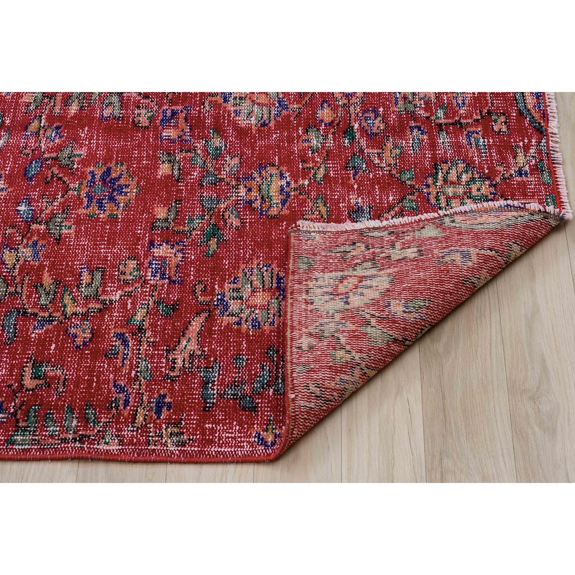 179 X 309 Anatolian Hand Knotted Carpet Vintage Style 60N2763 -  179 × 309 سجادة أناضولية معقودة يدويًا - Shop Online Furniture and Home Decor Store in Dubai, UAE at ebarza