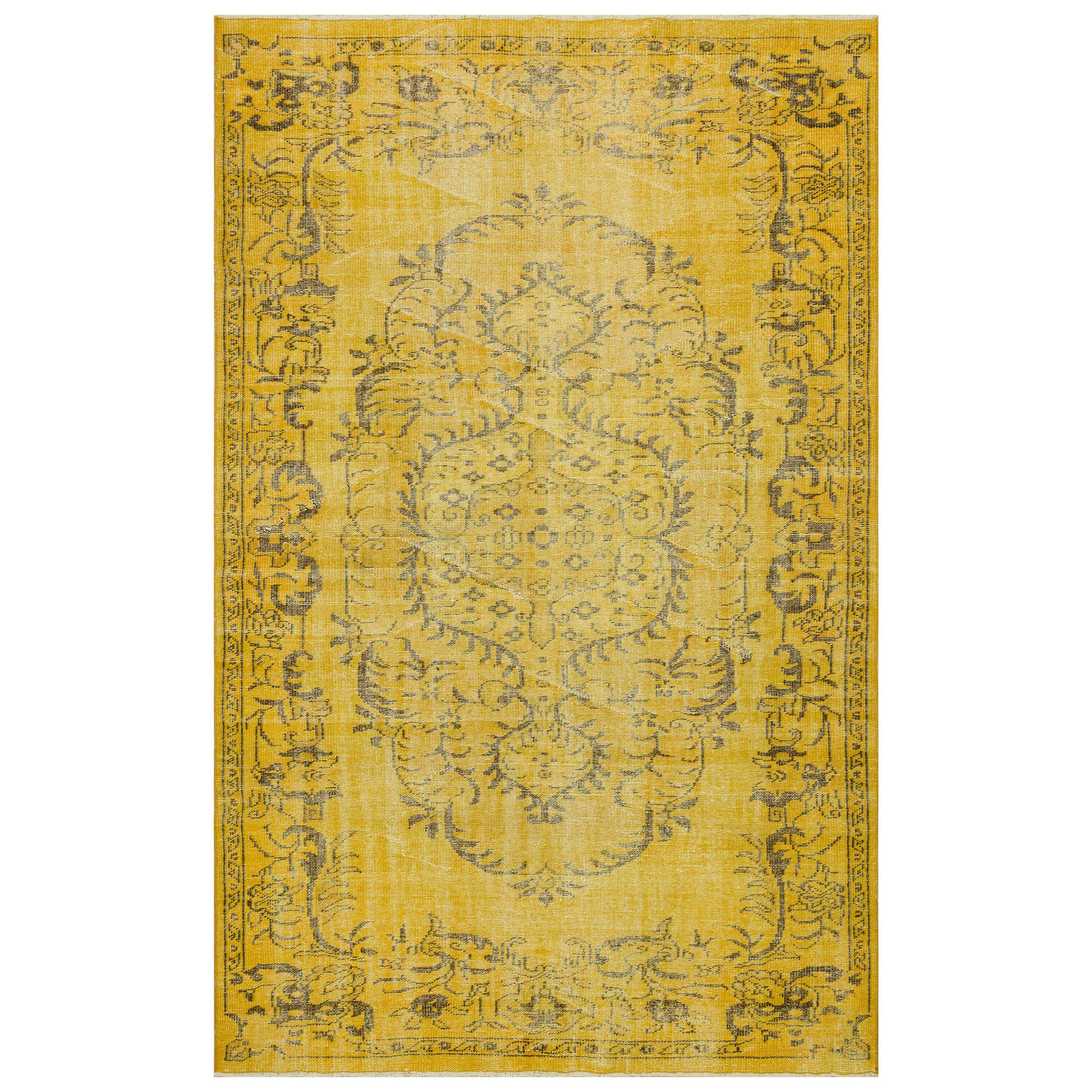 186 X 293 Anatolian Hand Knotted Carpet Vintage Style 60N2829 -  186 × 293 سجادة أناضولية معقودة يدويًا - Shop Online Furniture and Home Decor Store in Dubai, UAE at ebarza