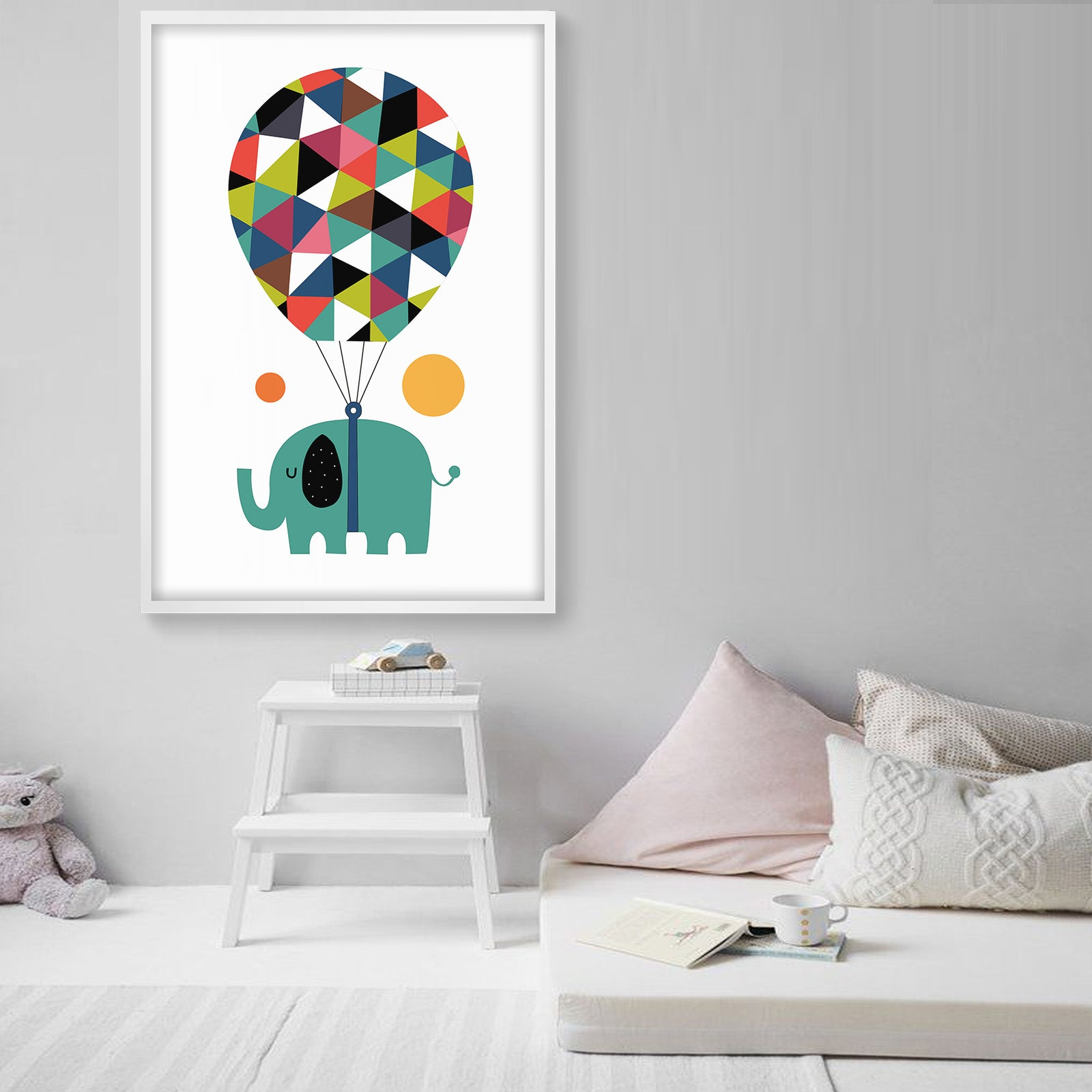Framed Graphic Art Print  SOAPR0011 -  لوحه فنيه مطبوعه بالايطار - Shop Online Furniture and Home Decor Store in Dubai, UAE at ebarza
