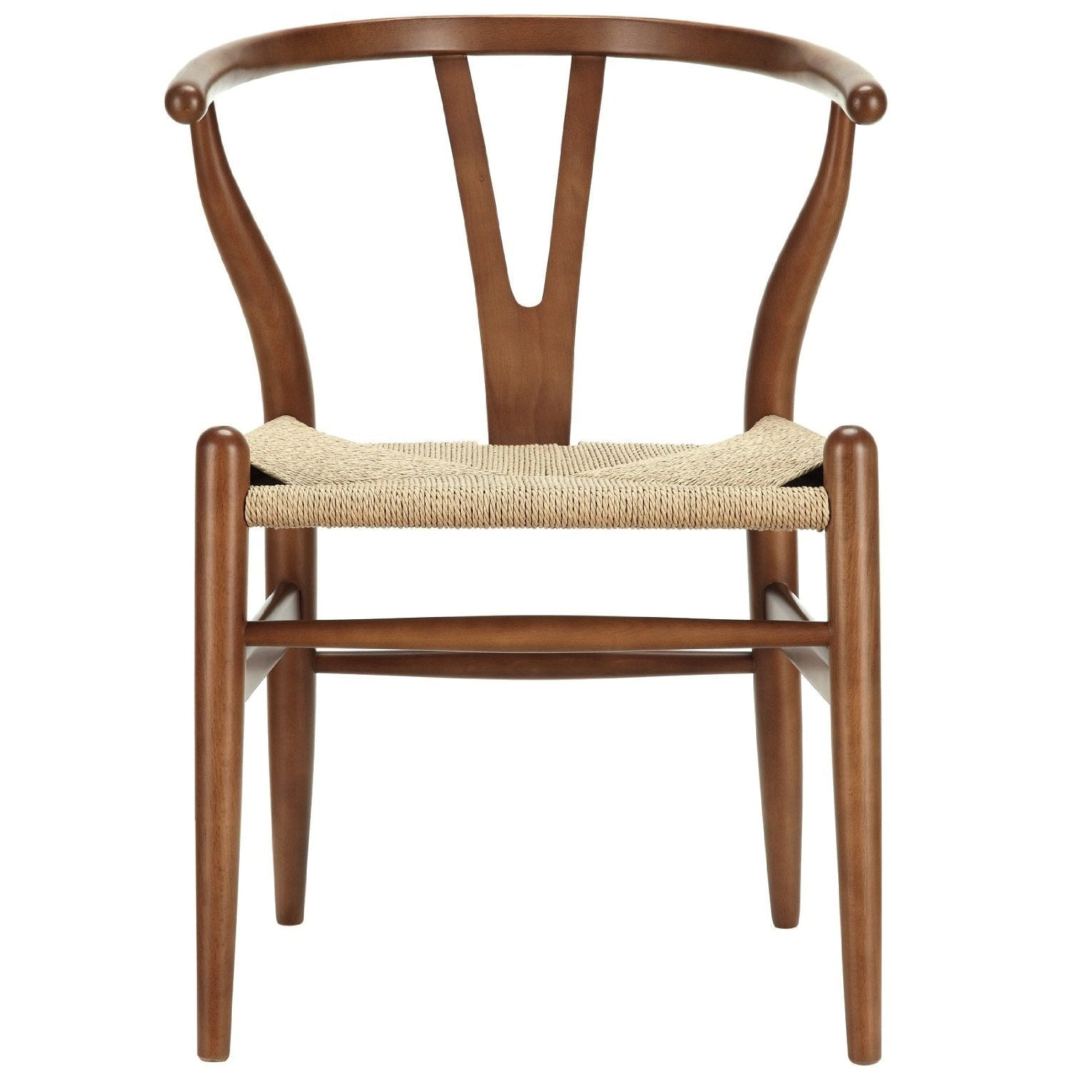 Solid ash wood and  Natural Cord Seat WS-001A-W