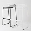 Wire Bar Stool without cushion MC-134H (SH:75CM)