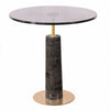 Pre-Order 70 days delivery Natural marble side table  212ST-B