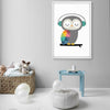 Pre-Order 30 days delivery  Framed Graphic Art Print  SOAPR0010