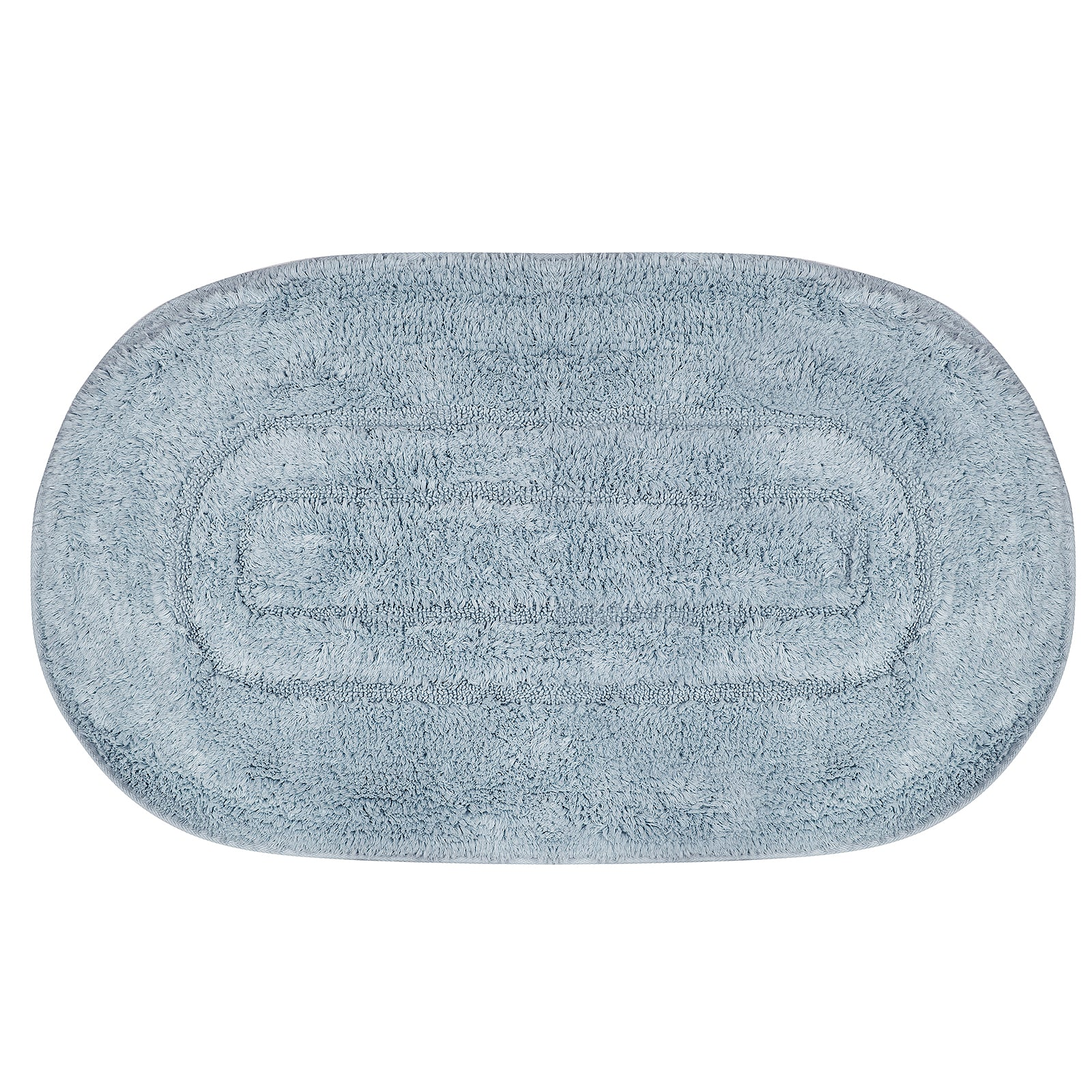 Milena Blue 2 Piece Bath Mat 200.15.01.0073 -  سجادة حمام ميلينا قطعتين - Shop Online Furniture and Home Decor Store in Dubai, UAE at ebarza