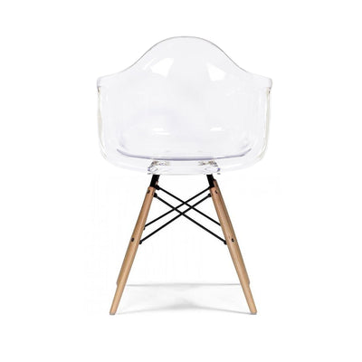 Dinning Chair- Plastic- PC-018W-N