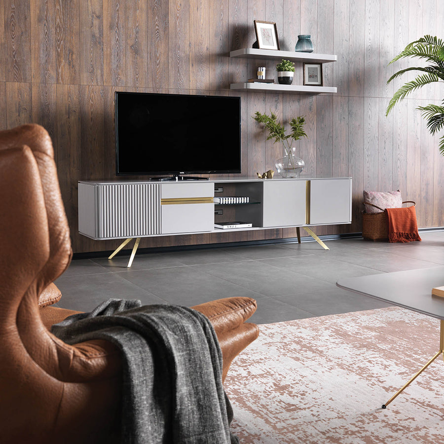 Pre-Order 60 days delivery MALENA TV unit