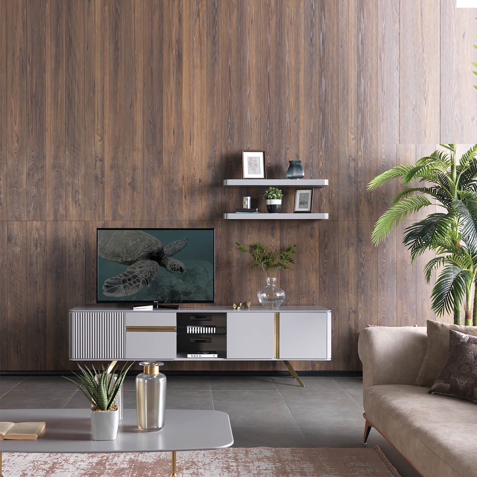 MALENA TV unit MAL005 -  طاولة تلفزيون من مالينا - Shop Online Furniture and Home Decor Store in Dubai, UAE at ebarza