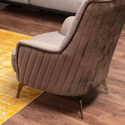 Nirvana Lounge chair   NIRV006-Brownchair