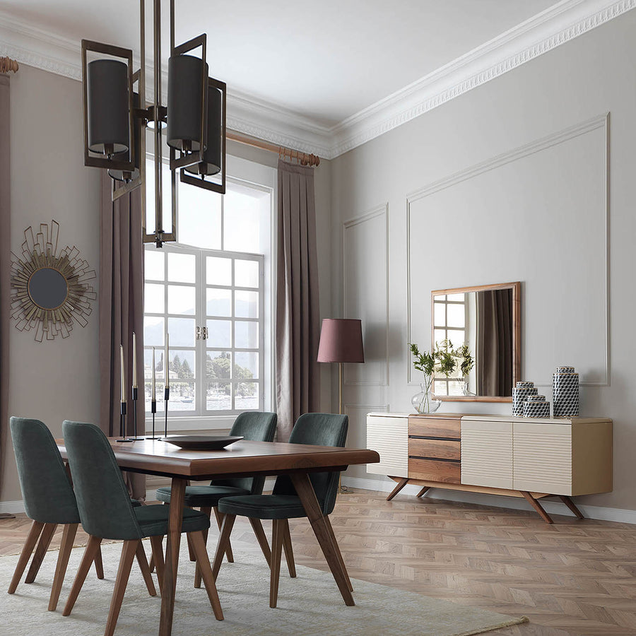 Pre-Order 60 days delivery Arya Dining table+ 6 chairs