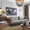 Pre-Order 60 days delivery Brooklyn Sofa    BRO016OW-GR